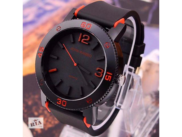 Продам новые часы John Rambo большой циферблат спортивные.- объявление о продаже  в Киеве