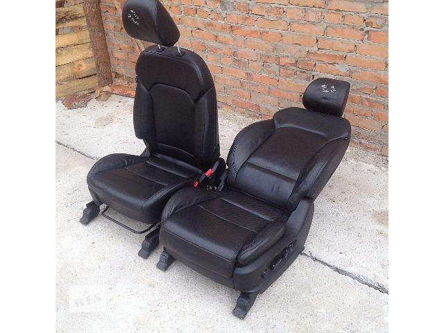 Продам новые передние кожаные сидения на Виваро, Трафик, Т5, Вито, Скудо, Кадди- объявление о продаже  в Киеве