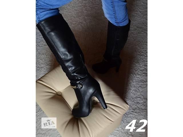 продам Демисезонные женские сапоги,Польша. бу в Кременчуге