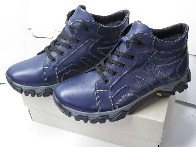 купить бу Продам новые зимние кожаные кроссовки на меху  в Харькове