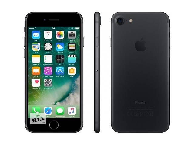 купить бу Продам новый Apple Iphone 7 Jet Black 128 в Киеве