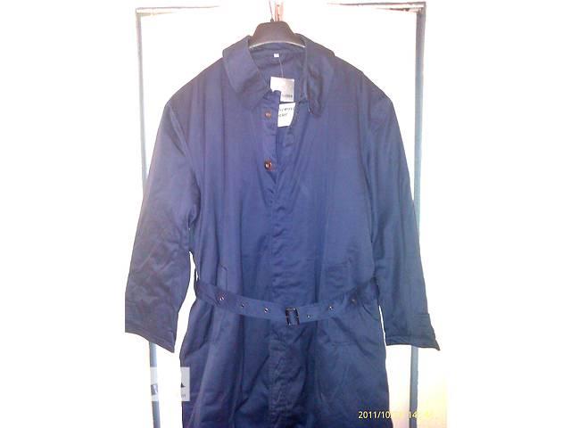 """бу Продам новый фирменный утеплённый плащ , тёмно синего цвета, фирма """" Kristofer"""", размер 54-56, пр. Италия, в Мукачево"""