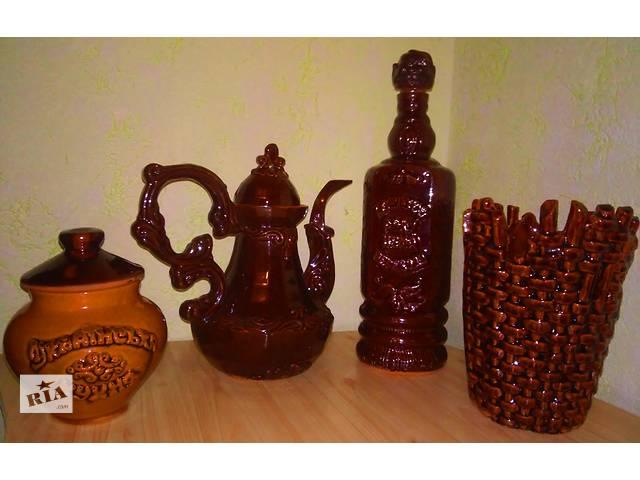Продам новый керамический набор в украинском стиле- отличный подарок !- объявление о продаже  в Яготине