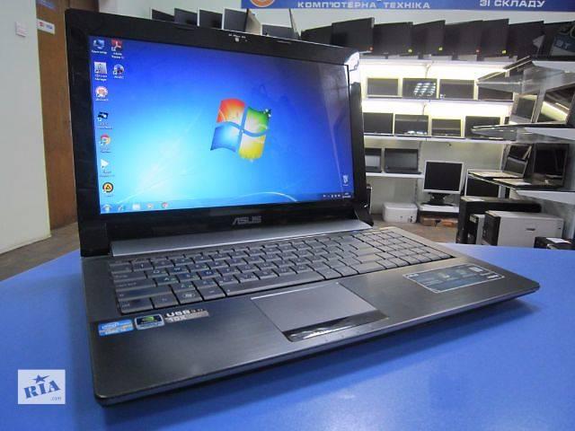 бу Продам новый ноутбук ASUS N53SM в Львове