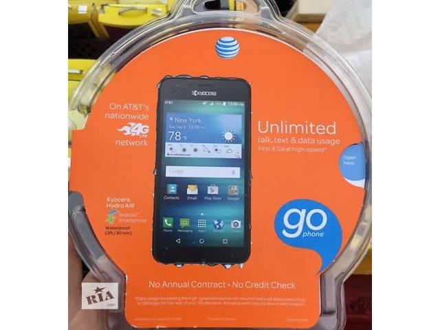 купить бу Продам новый водозащищенный смартфон Kyocera Hydro AIR c6745 из США+подарок PowerBank в Харькове