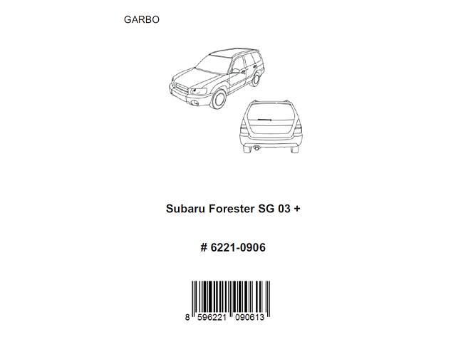 бу Продам новый задний спойлер на Subaru Forester SG 2003-2007 в Киеве