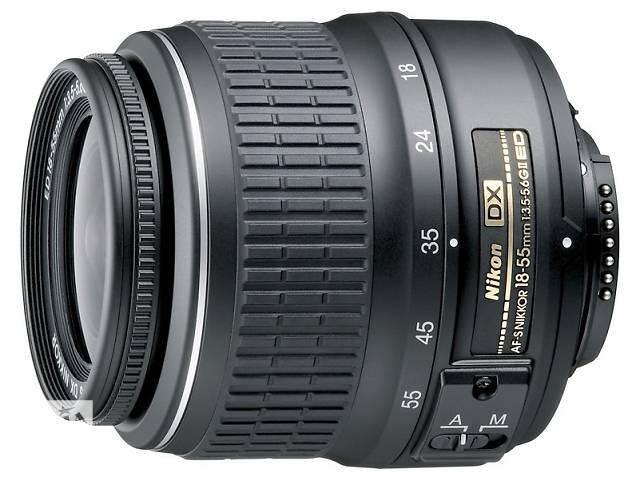 купить бу Продам объектив nikon af-s nikkor 18-55 mm3.5-5.6 в Донецке