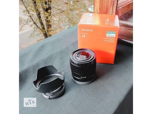 Продам обьектив Sony SEL 28 f 2,0 (SEL28F20)- объявление о продаже  в Киеве