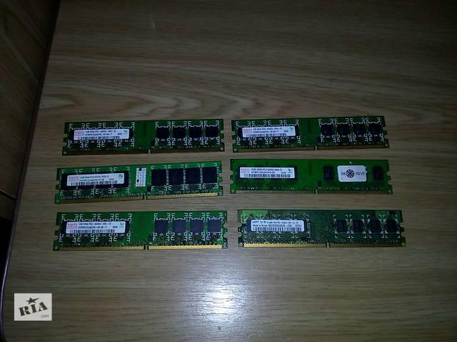 купить бу Продам оперативку DDR2 Hynix 512, 1GB,2GB. в Херсоне