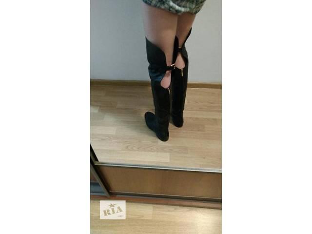 Продам оригинальные сапоги,бутфорди Dolce&Gabbana- объявление о продаже  в Львове