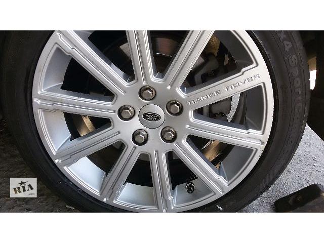 купить бу Продам оригинальные диски Land Rover Range Rover Sport 2012 год R20 шины зима в Киеве