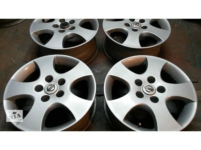 купить бу Продам оригинальные диски Nissan R16 5x114.3 в Киеве