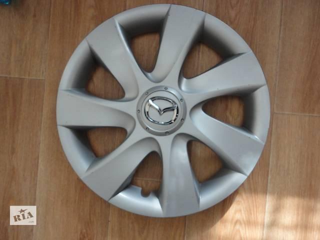купить бу Продам Оригинальные колпаки на колеса Mazda 6 Мазда 6 R15 Оригинал BBР3-37-170 в Киеве
