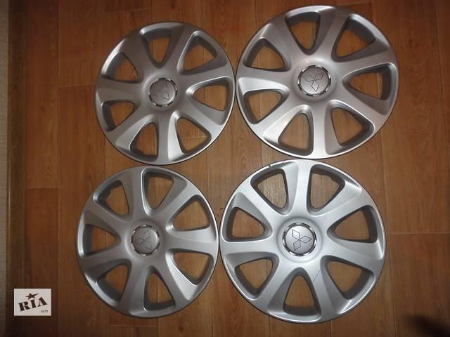 купить бу Продам Оригинальные колпаки на колеса Mitsubishi ASX Мицубиси ASX R16 Оригинал A364A в Киеве