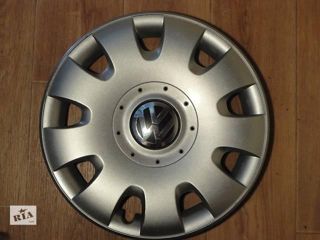 бу Продам Оригинальные колпаки на колеса Volkswagen Golf 5 R15 Фольксваген Гольф 5 R15 Оригинал 1Т0 601 147 в Киеве