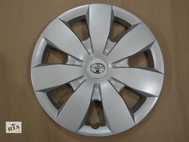 купить бу Продам Оригинальные колпаки на Toyota Camry Тойота Камри R16 Оригинал 42602-02330 в Киеве