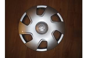 Новые Колпаки на диск Skoda Rapid