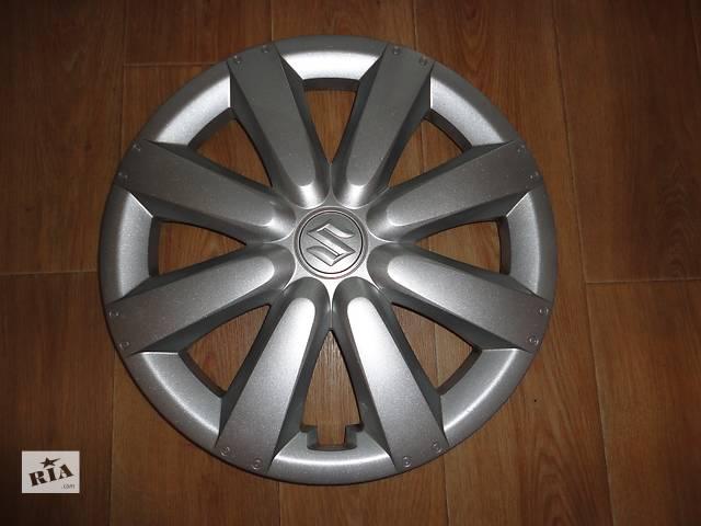 купить бу Продам Оригинальные колпаки Suzuki SX4 Сузуки SX4 R16 Оригинал 43250-79J10 в Киеве