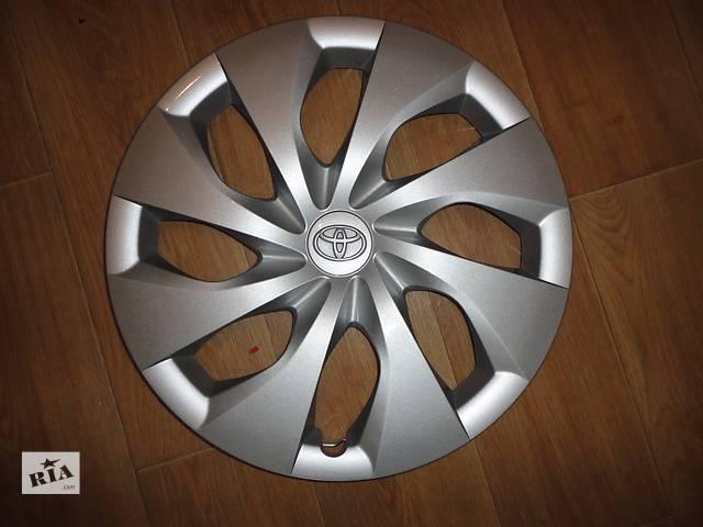 купить бу Продам Оригинальные колпаки Toyota Corolla Тойота Королла R16 Оригинал 42602-02410 в Киеве