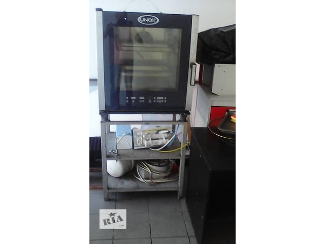 Продам пароконвектомат Unox XVC 505E с установочным столом и фильтром- объявление о продаже  в Хмельницком