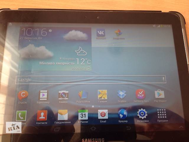 купить бу Продам планшет  Samsung Galaxy Tab 2 в Виннице