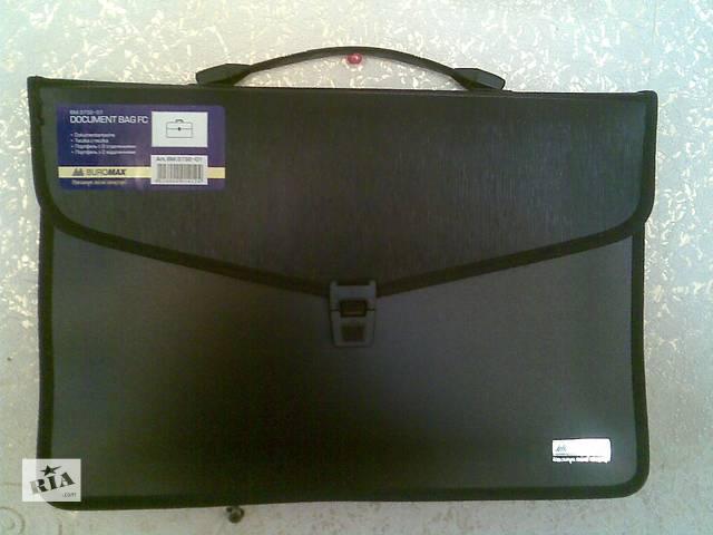 продам Продам пластиковый портфель Buromax BM.3732-01,2 отделения,B4. бу в Харькове