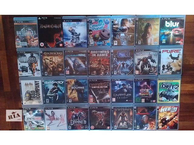 продам продам PlayStation 3 - games , игры бу в Запорожье