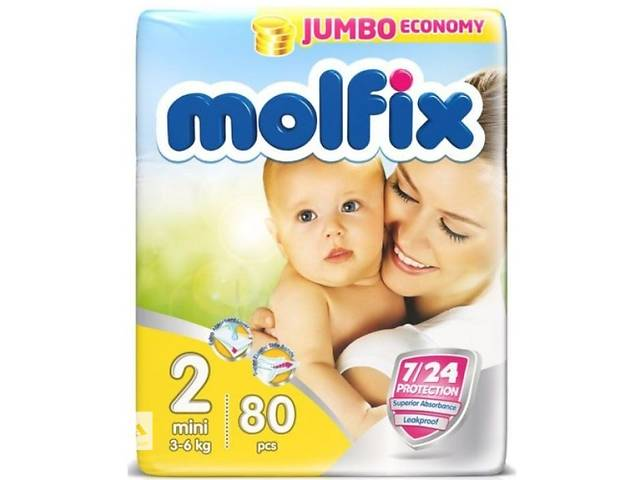 продам  Продам подгузники Molfix бу в Харькове