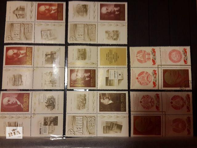 купить бу Продам почтовые марки СССР 1964-1991г. в Киеве