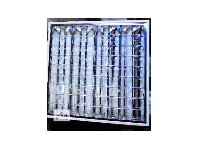 бу Продам потолочные светильники 10шт. 60*60см+ПОДАРОК 40ламп в Мариуполе
