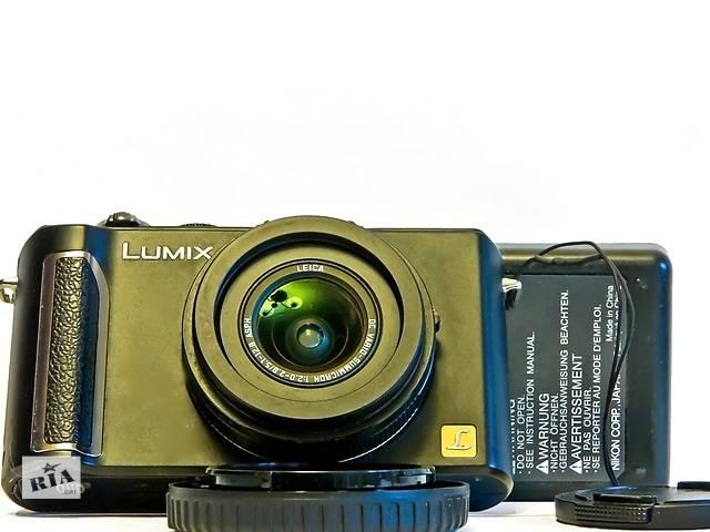 бу Panasonic lumix dmc-lx3, премиум-компактв идеальном состоянии. в Одессе
