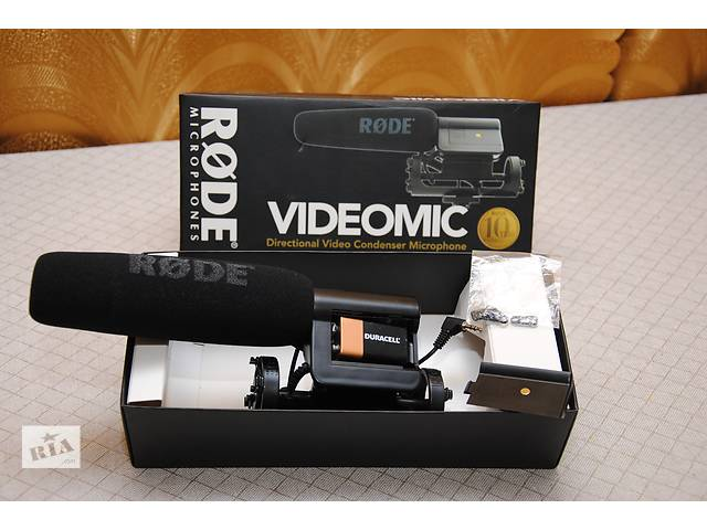 купить бу Продам профессиональный відеомікрофон RODE VIDEOMIC (Australia) в Козельце