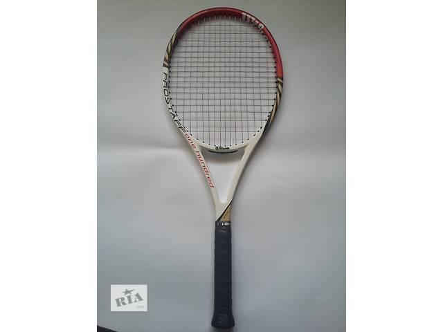Продам профессиональную ракетку для тенниса Wilson ProStaff 100L - объявление о продаже  в Тернополе