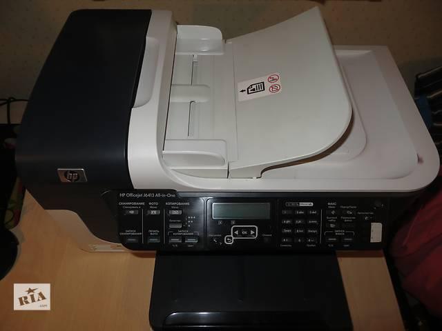 купить бу Продам принтер/сканер/копир/факс HP Officejet J6413 All-in-One . в Киеве