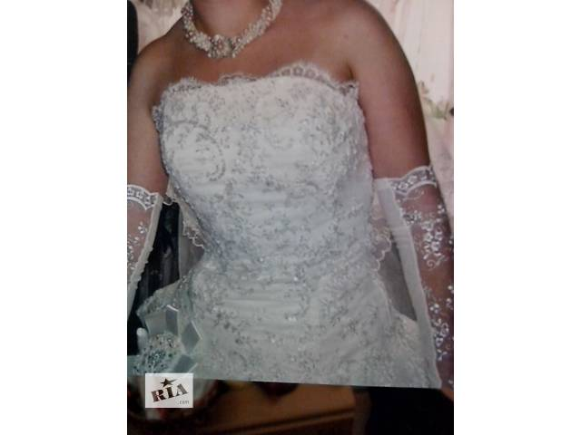 продам Продам пишное свадебное платья! бу в Борисполе