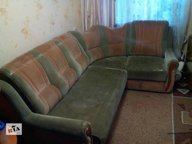Продам раскладывающийся угловой диван б/у- объявление о продаже  в Харькове