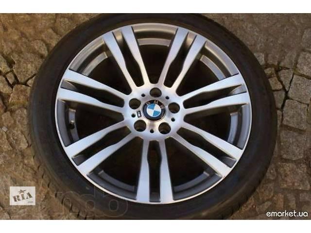 купить бу Продам разно широкие оригинальные диски BMW X 5 E 70 стиль 333-М POWER R20 с шинами зима в Киеве