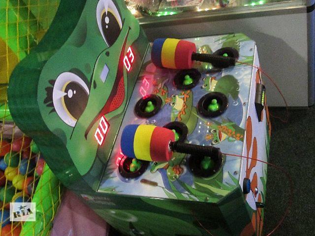 """продам Продам развлекательный автомат для детей """"Жабка-колотушка"""" бу в Ровно"""