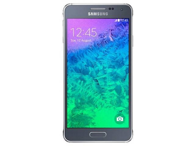купить бу Продам Samsung Galaxy ALPHA PRO + black в Макеевке