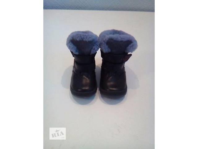 купить бу продам сапоги Тм (шалунишка) кожаные в Киеве