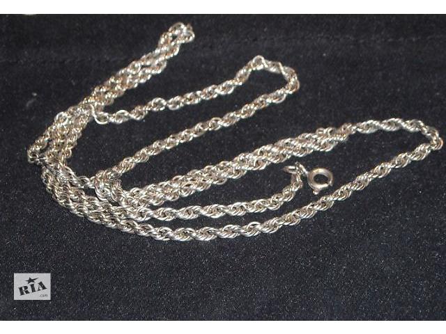 купить бу Продам серебряные цепочки  с пробой 925 в Харькове