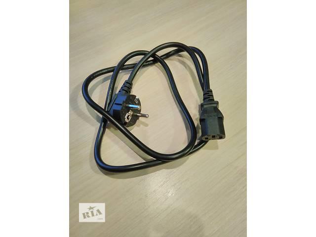 купить бу Продам сетевой кабель для ПК (10А 250В). Новый! в Харькове