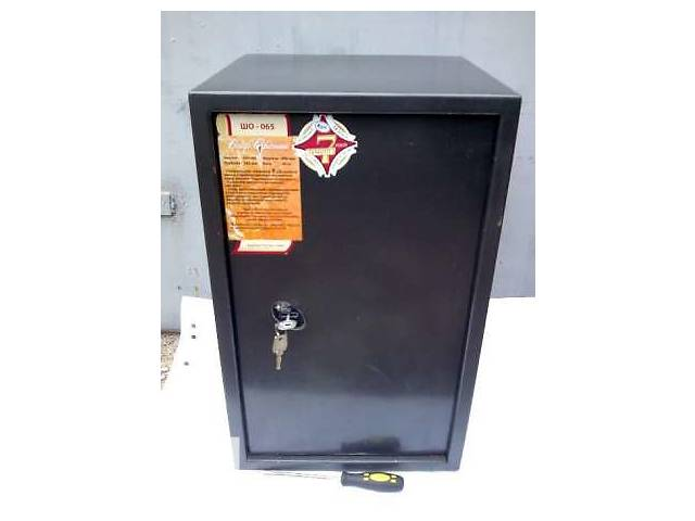 бу Продам сейф одностенный, выс. 650, шир. 400, глуб. 380, вес 40 кг. в Донецке