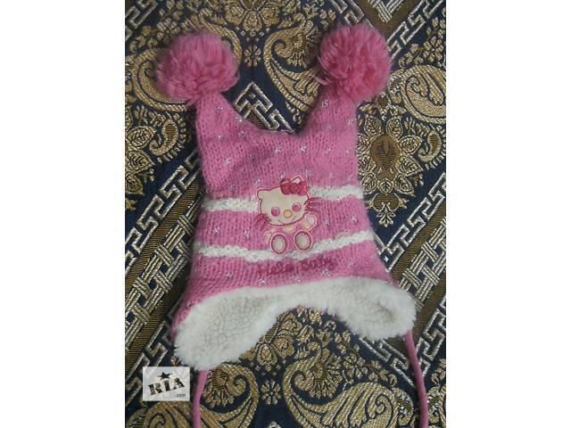 продам Продам шапку на девочку до года бу в Харькове