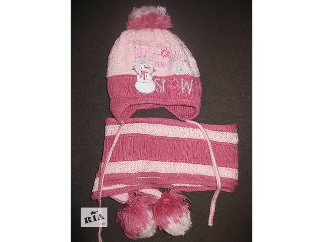 Продам шапку и шарф для девочки 3-4 лет- объявление о продаже  в Харькове