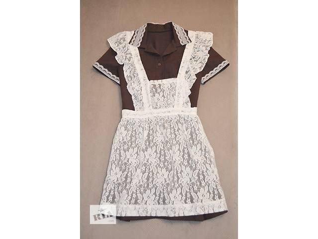 Продам школьное платье с фартуком - объявление о продаже  в Харькове