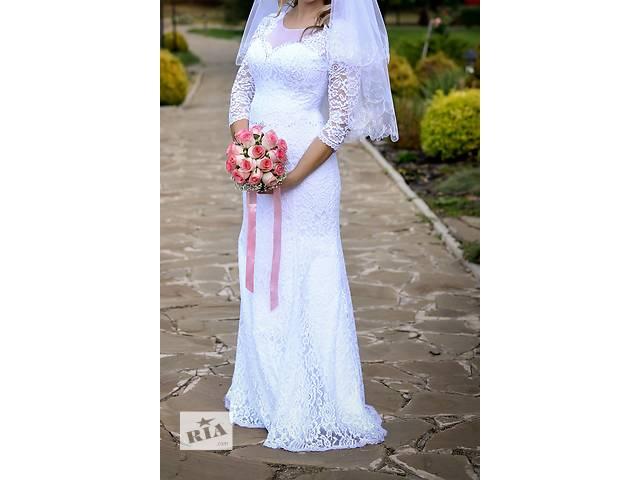 продам Продам шикарное свадебное платье! бу в Донецке