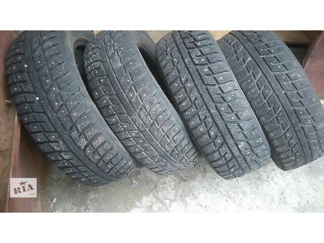 Продам шины 195 60 15 зима шип- объявление о продаже  в Харькове