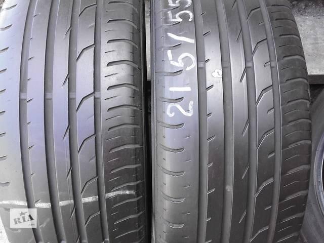продам шины б/у лето 215/55/18- объявление о продаже  в Жовкве