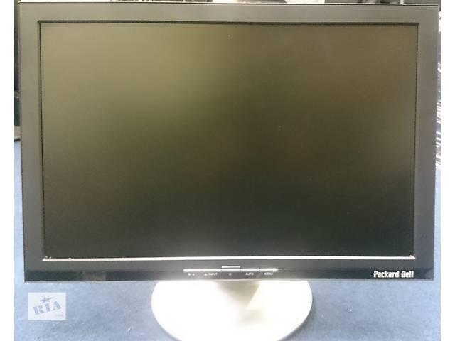 """продам Продам широкоформатний монітор Packard Bell 900W 19"""" бу в Луцке"""